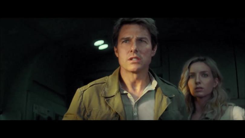 Tom Cruise, Annabelle Wallis- wait a minute, this isn't over yet?