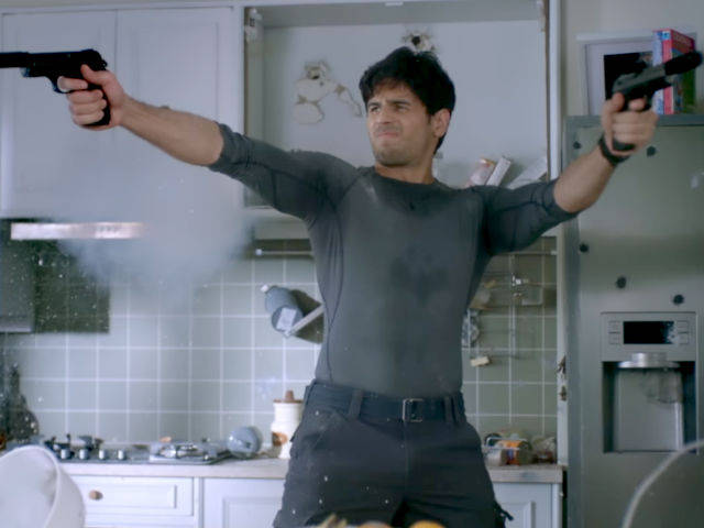 Sidharth Malhotra goes great guns