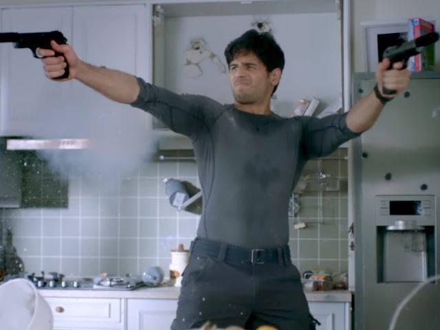 Sidharth Malhotra goes great guns