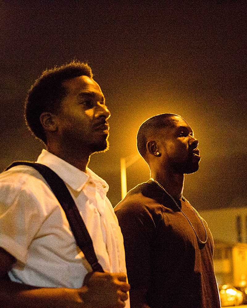 André Holland, Trevante Rhodes - symphony in circles