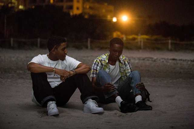 Jharrel Jerome, Ashton Sanders - beach brittle
