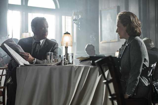 Tom Hanks, Meryl Streep - papering over the issue