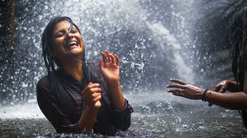 Aditi Balan - water-falling in love