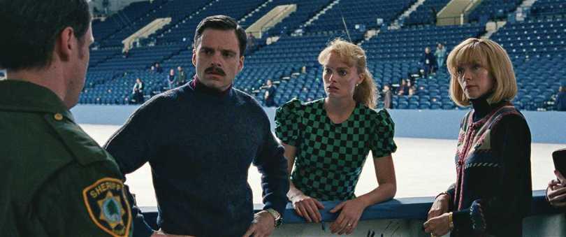 Sebastian Stan, Margot Robbie, Julianne Nicholson - copping trouble