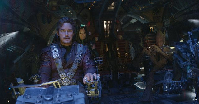 Chris Pratt, Pom Klementieff, and Vin Diesel are about to run into disaster.