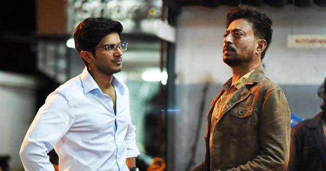 Dulquer and Irrfan contemplate about life and death.