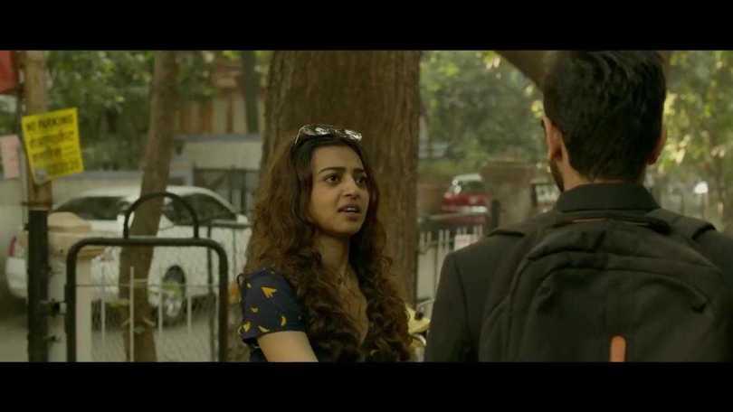 Radhika Apte, Ayushmann Khurana-love isn't blind.