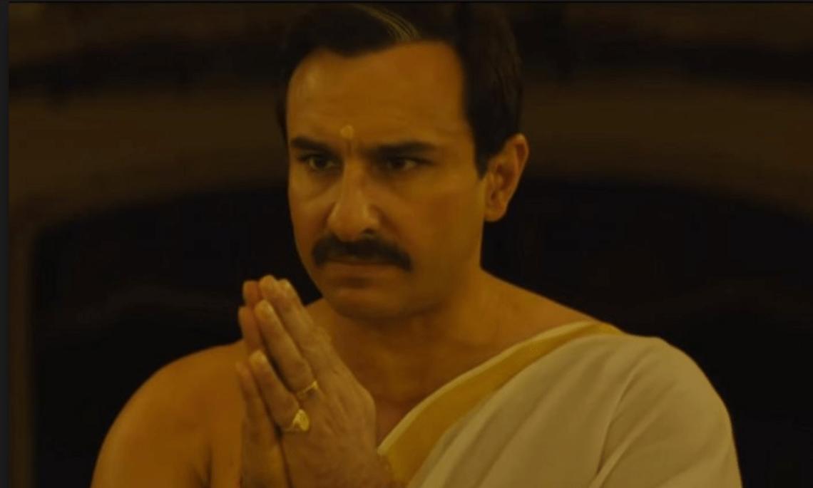 Saif Ali Khan is valiant, but the writing's Valium