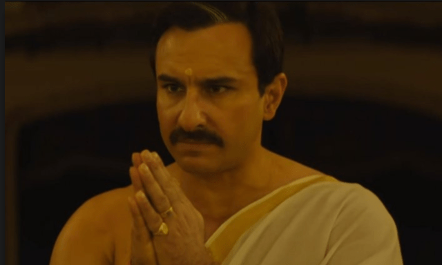 Saif Ali Khan is valiant, but the writing's Valium