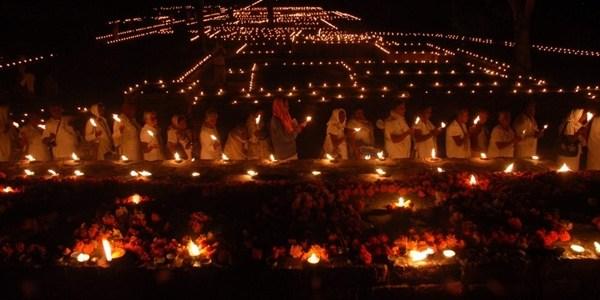 Festival of Lights in Jetavana, Shravasti