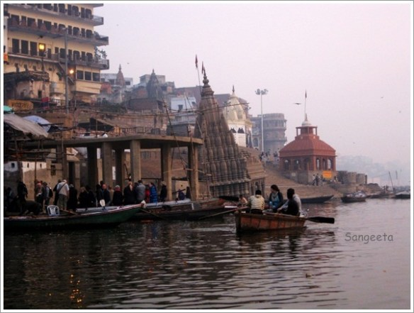Boat Ride Varanasi Manikarnika Ghat