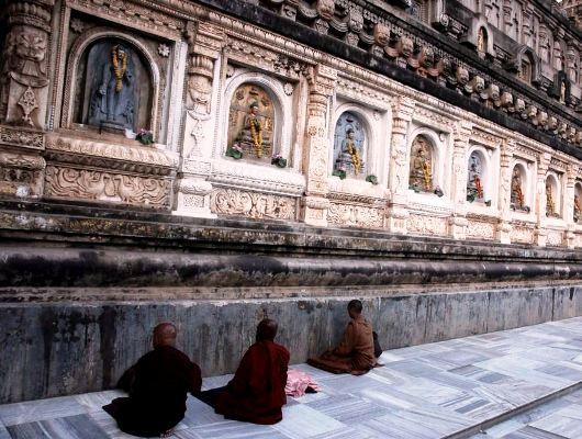 Bodhgaya Temple Wall