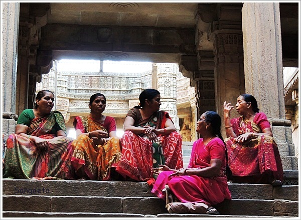 Sisterly Bonding Adalaj Escape Chat