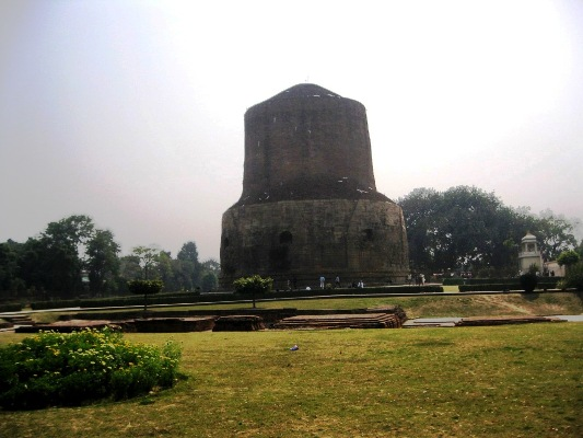 Sarnath-Dhamekh Stupa