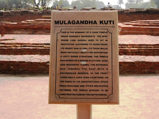 Sarnath-Old Mulagandhakuthi