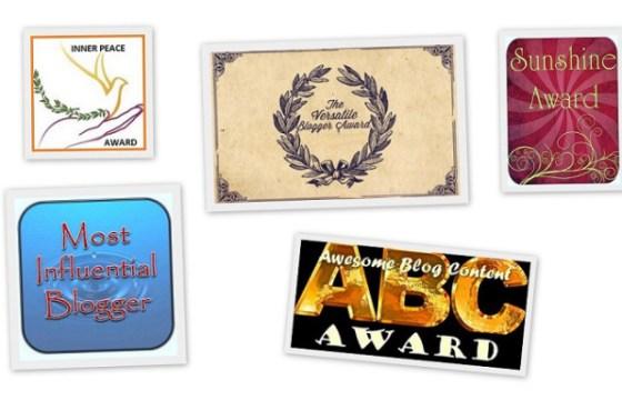 Quintet Blogging Award