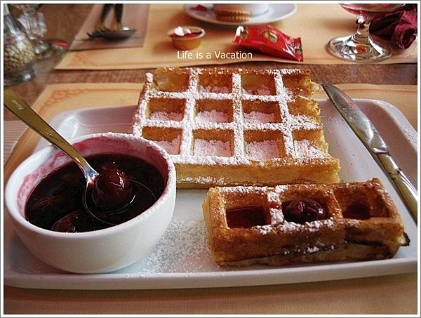 Desserts in Belgium - Waffle