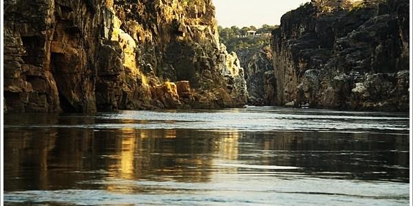 Boat Ride on Narmada through Marble Rocks, Jabalpur, India