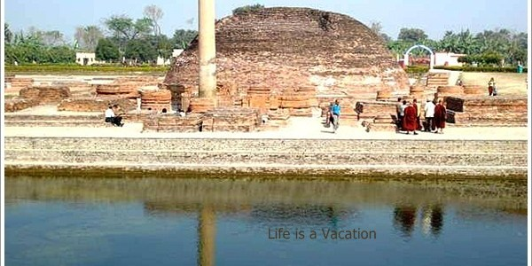 Lord Buddha's Seat of Last Sermon-Vaishali, India