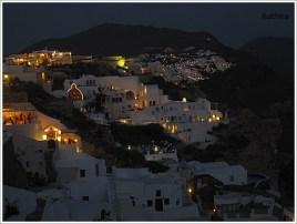 Santorini Night View