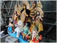 Goddess Durga Idol Kolkata