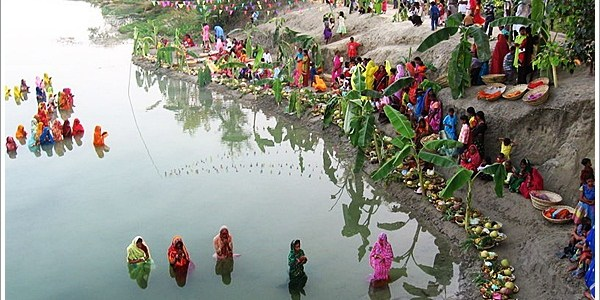 Embracing the divinity of Sun, Chhath Puja, India