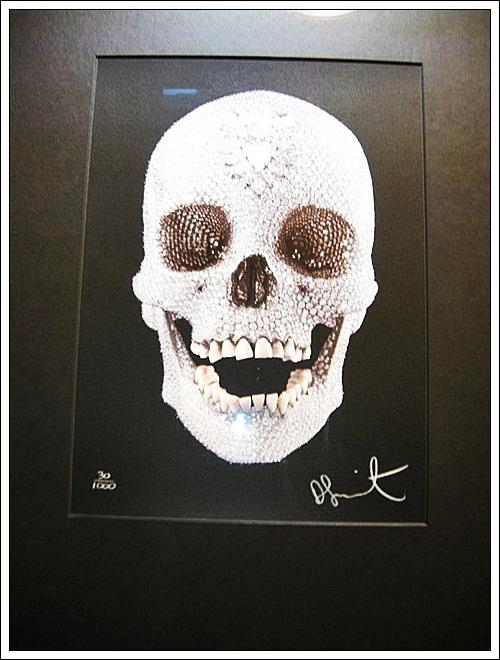 Skull - Diamond Museum in Amsterdam