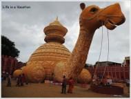 Kolkata Pandal Behala Camela