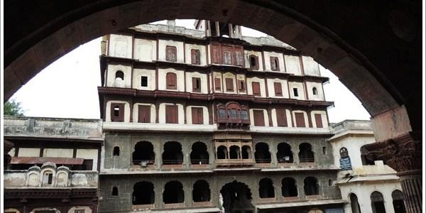 7 Storied Rajwada Palace in Indore, India