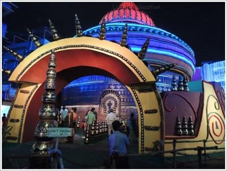 Kolkata Pandal Santoshpur
