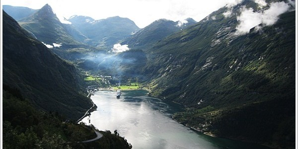 Around the queen of fjords- Geirangerfjord, Norway
