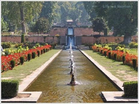 Kashmir Mughal Gardens