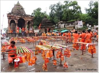 Maheshwar Kavad Yatra Shiva