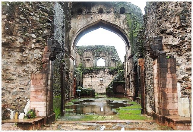 Mandu Ruins Gada Shah Shop
