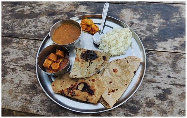 Making Indian Roti- Jodhpur Village Tour Lunch