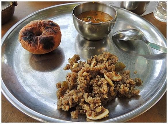 Tastes of Rajasthan -Dal Baati Churma