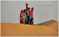 SAM Sand Dune Family, Thar Desert Jaisalmer