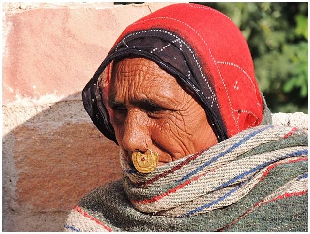Bishnoi Lady in Jodhpur, Rajasthan