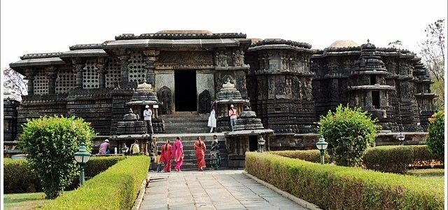 History on the Wall, Hoysaleswar Temple, Halebidu