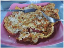 Sikkim Yak Cheese Omelette