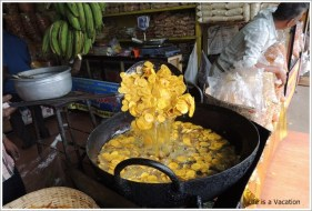 Banana Chips in Alleppey Kerala