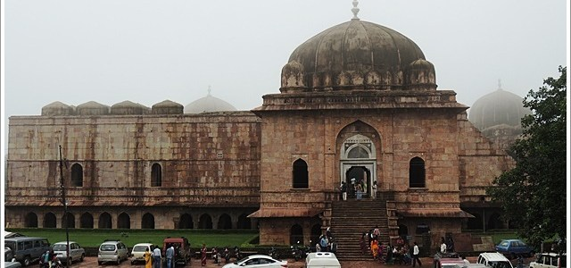 Madrassa, Mosque and Mausoleum in Mandu
