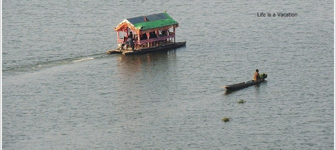 Blue Loktak Lake, Floating Park and History all around; Manipur