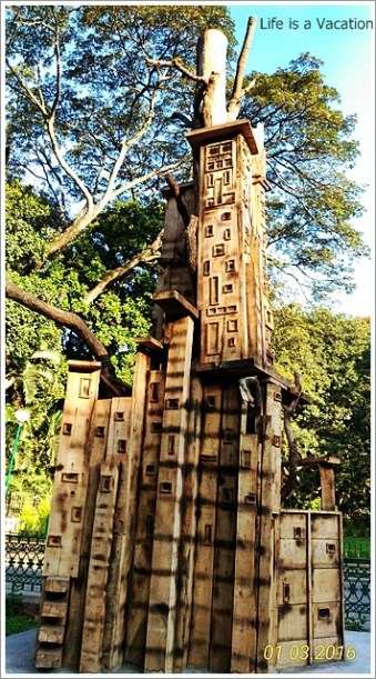 Cubbon Park Bangalore Tree Art