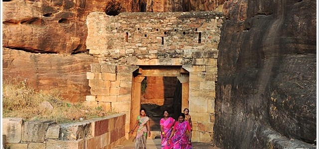 Short Trek in Badami Fort and Shivalaya