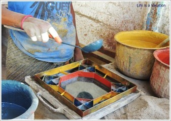 Athangudi Tiles Making in Chettinad