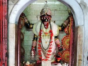 Kalna Siddheshwari Kalibari Neel Log Idol