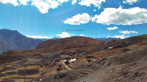 spiti-hikkim-village-scene