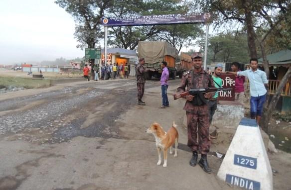 Dawki Tamabil Border Post