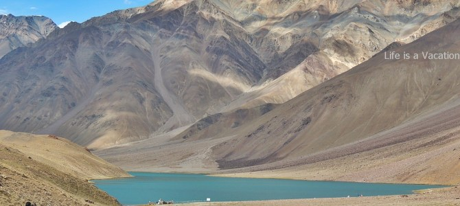 Chandratal Lake in a Day; Stopover between Kaza and Manali